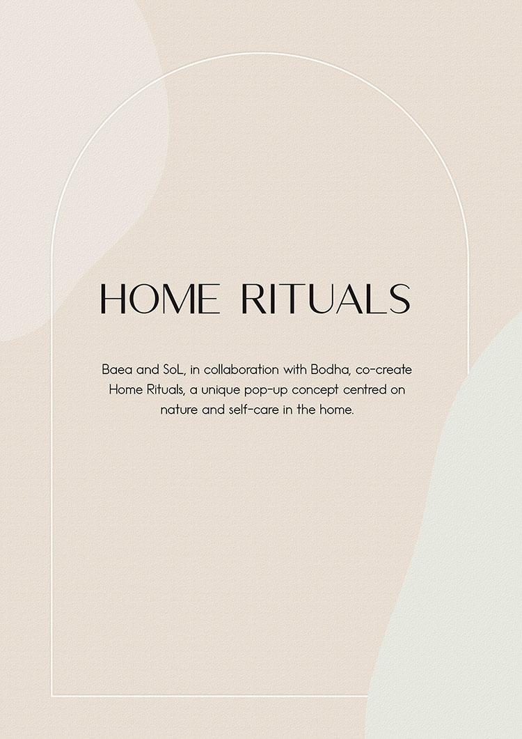 HOME RITUALS